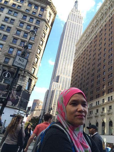 Melancong ke New york