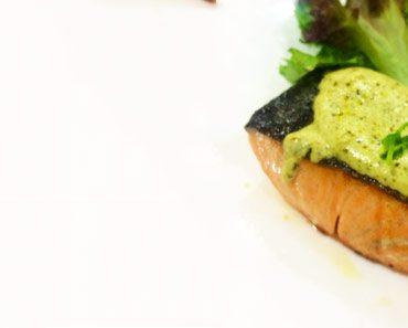 resepi salmon pesto