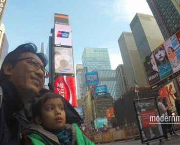 Day 3 Menjejak Amerika – Papa and iman jalan jalan di Manhattan pulak