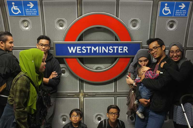 Trip perjalanan bajet ke england