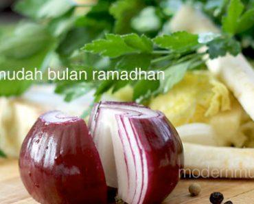 resepi mudah bulan ramadhan