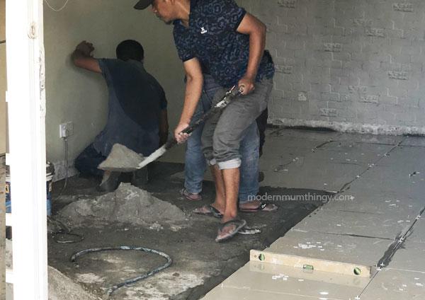 Jubin lantai meletup