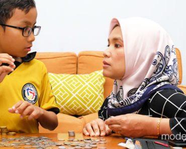 tips didik anak pengurusan kewangan