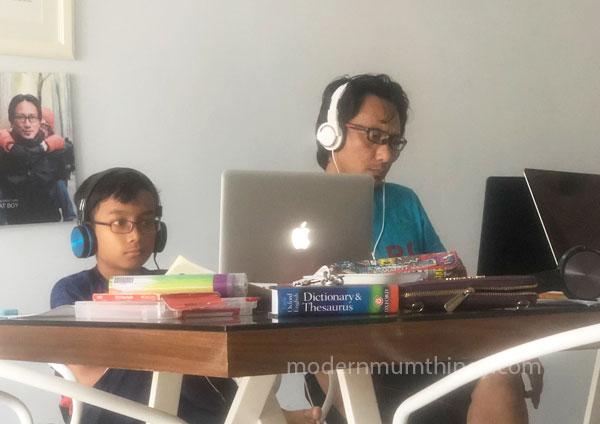 Aktiviti pembelajaran anak semasa PKP