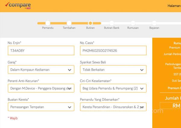 Renew insurans online