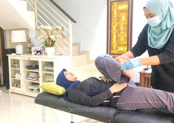 rawatan fisioterapi di rumah