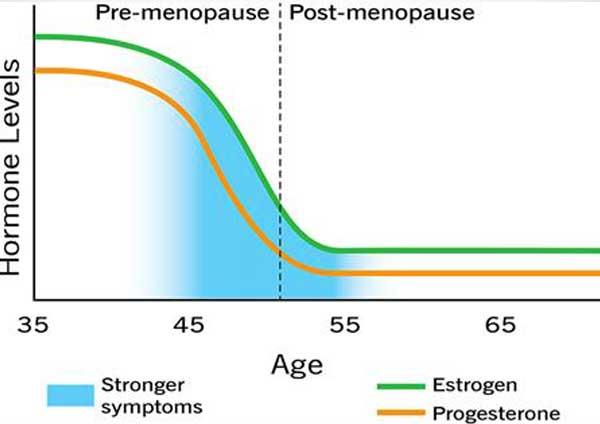 Simptom Menopaus